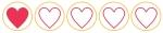 1 hearts