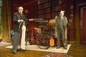 David Horovitch (Yahuda) and Antony Sher (Freud)