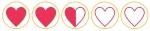 2.5 hearts