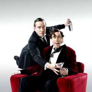 Matthew Macfayden and Stephen Mangan as Wooster and Jeeves (Photo: Clara Molden)