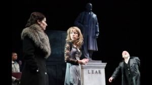 King Lear with Kate Fleetwood, Anna Maxwell Martin, Simon Russell Beale (Mark Douet)