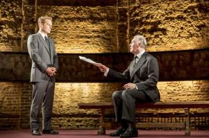 King Charles III - Adam James as the Prime Minister and Tim Pigott-Smith as Charles III