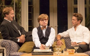 My Night With Reg - Geoffrey Streatfeild (Daniel), Jonathan Broadbent (Guy) and Julian Ovenden (John)